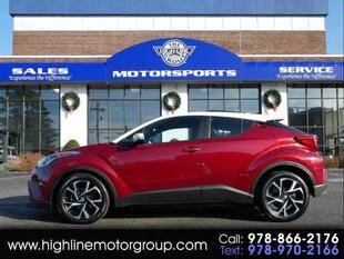 2018 Toyota C-HR for sale at Highline Group Motorsports in Lowell MA