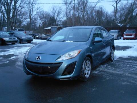 2010 Mazda MAZDA3 for sale at MT MORRIS AUTO SALES INC in Mount Morris MI