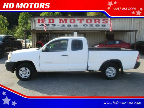 2006 Toyota Tacoma for sale at HD MOTORS in Kingsport TN