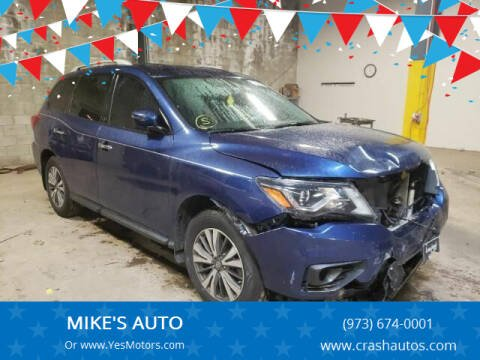 2017 Nissan Pathfinder for sale at MIKE'S AUTO in Orange NJ