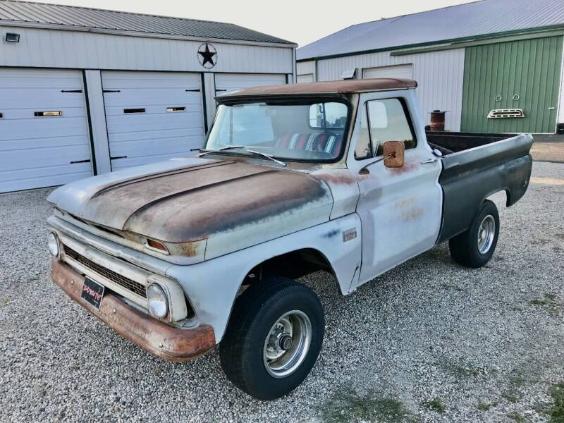 1966 Chevrolet C/K 10 Series for sale at 500 CLASSIC AUTO SALES in Knightstown IN