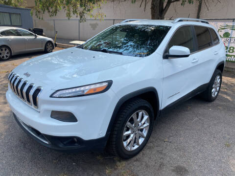 2014 Jeep Cherokee for sale at GO GREEN MOTORS in Lakewood CO