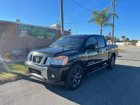 2015 Nissan Titan for sale at Galaxy Motors Inc in Melbourne FL