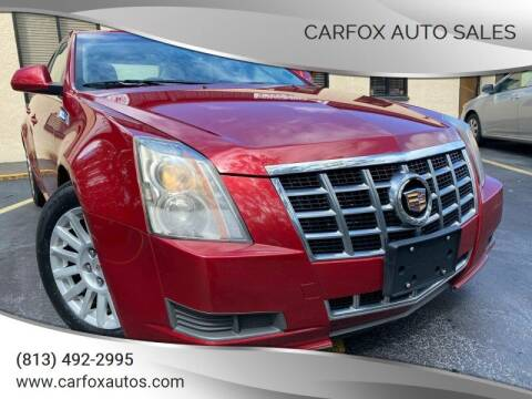 2013 Cadillac CTS for sale at Carfox Auto Sales in Tampa FL
