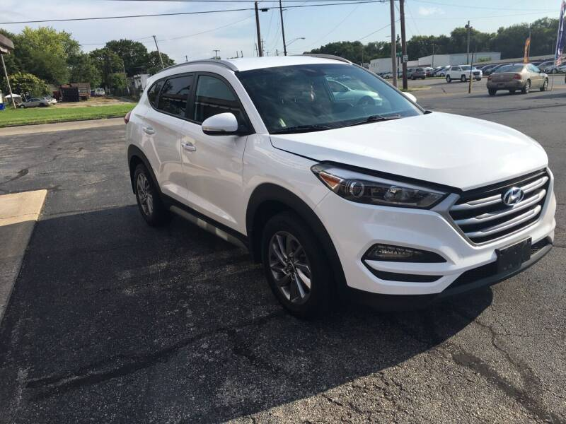 2017 Hyundai Tucson for sale at D & D Auto Sales in Hamilton OH