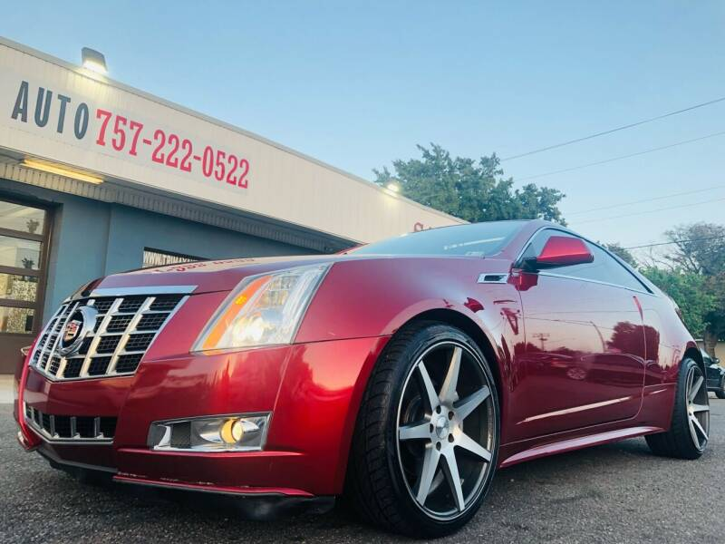 2014 Cadillac CTS for sale at Trimax Auto Group in Norfolk VA