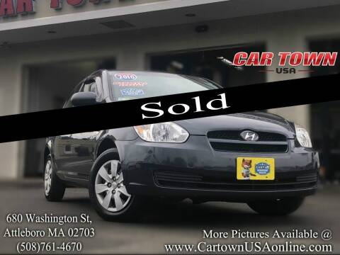 2010 Hyundai Accent for sale at Car Town USA in Attleboro MA
