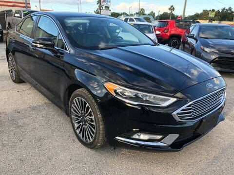 2017 Ford Fusion for sale at Marvin Motors in Kissimmee FL