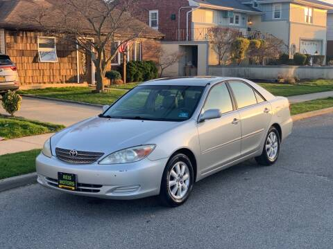 2002 Toyota Camry for sale at Reis Motors LLC in Lawrence NY