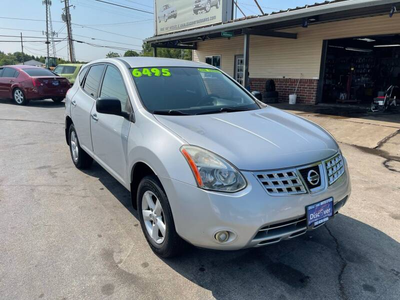 2010 Nissan Rogue for sale at DISCOVER AUTO SALES in Racine WI