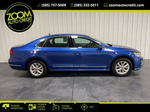 2017 Volkswagen Passat for sale at ZoomAutoCredit.com in Elba NY
