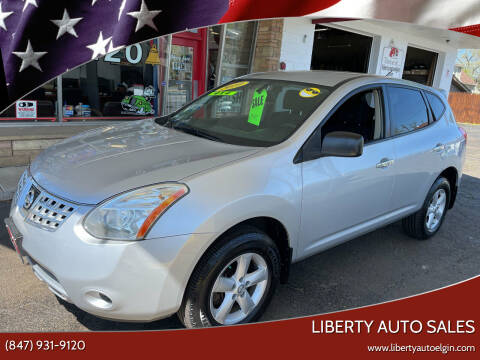2010 Nissan Rogue for sale at Liberty Auto Sales in Elgin IL