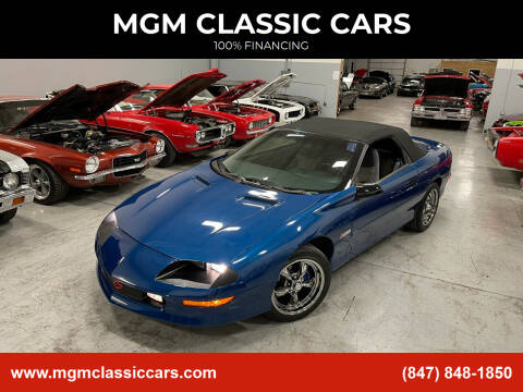 1994 Chevrolet Camaro for sale at MGM Classic Cars in Addison, IL