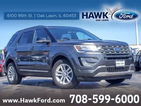 2017 Ford Explorer for sale at Hawk Ford of Oak Lawn in Oak Lawn IL
