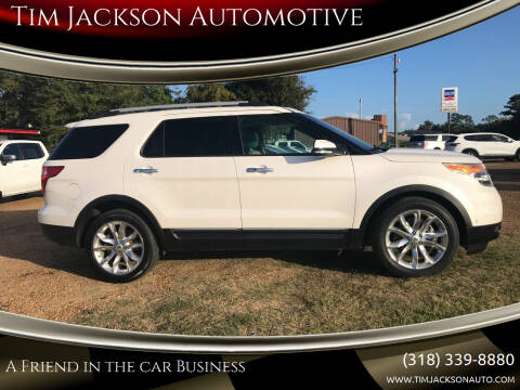 2015 Ford Explorer for sale at Tim Jackson Automotive in Jonesville LA