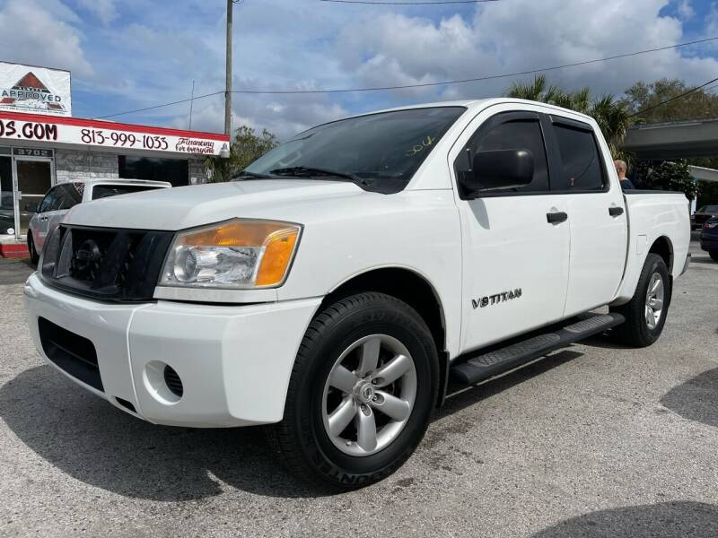 2012 Nissan Titan for sale at Always Approved Autos in Tampa FL