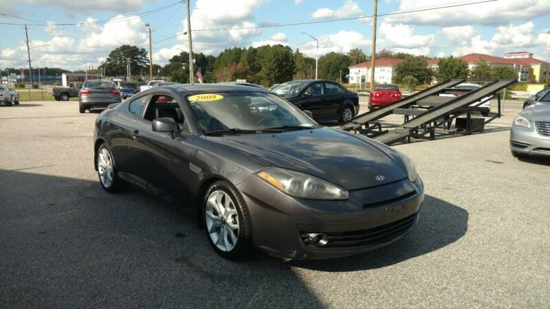 2008 Hyundai Tiburon for sale at Kelly & Kelly Supermarket of Cars in Fayetteville NC
