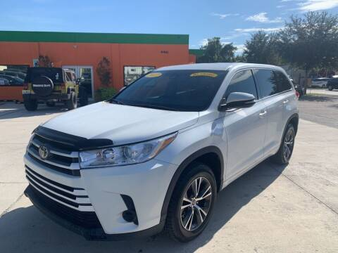 2017 Toyota Highlander for sale at Galaxy Auto Service, Inc. in Orlando FL