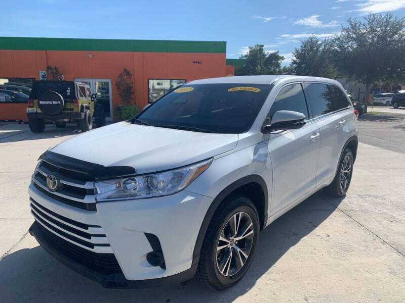 2017 Toyota Highlander for sale at Galaxy Auto Service, Inc. in Orlando FL