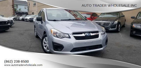 2013 Subaru Impreza for sale at Auto Trader Wholesale Inc in Saddle Brook NJ