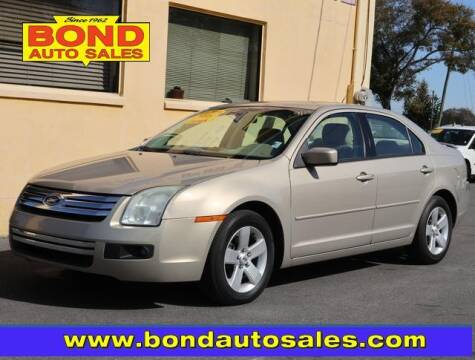 2008 Ford Fusion for sale at Bond Auto Sales in St Petersburg FL