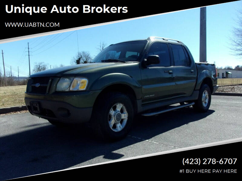 2002 Ford Explorer Sport Trac for sale at Unique Auto Brokers in Kingsport TN