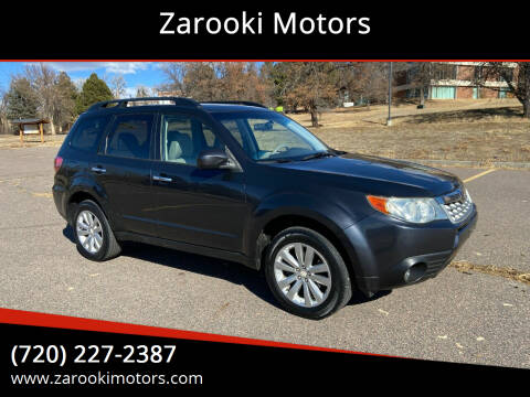 2011 Subaru Forester for sale at Zarooki Motors in Englewood CO