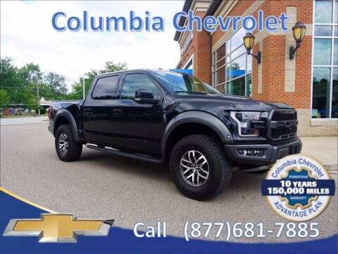 2018 Ford F-150 for sale at COLUMBIA CHEVROLET in Cincinnati OH