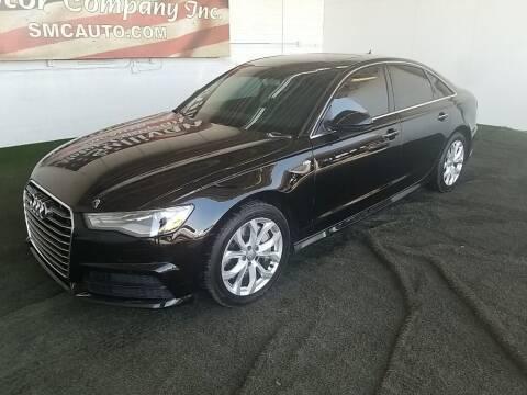 2018 Audi A6 for sale at SULLIVAN MOTOR COMPANY INC. in Mesa AZ