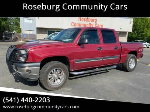 2005 Chevrolet Silverado 1500 for sale at Roseburg Community Cars in Roseburg OR
