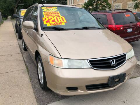 2002 Honda Odyssey for sale at Jeff Auto Sales INC in Chicago IL