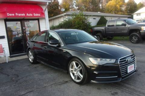 2016 Audi A6 for sale at Dave Franek Automotive in Wantage NJ