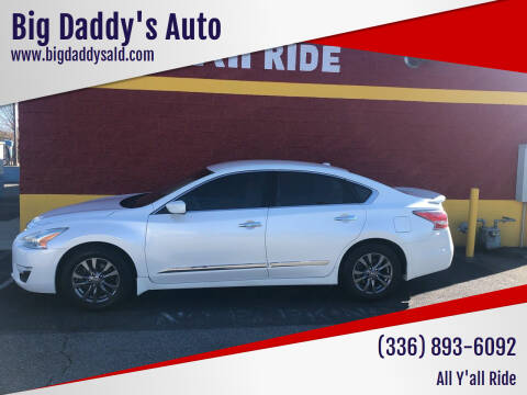 2015 Nissan Altima for sale at Big Daddy's Auto in Winston-Salem NC