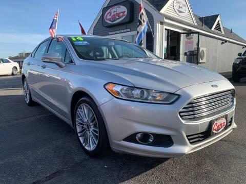 2014 Ford Fusion for sale at Cape Cod Carz in Hyannis MA