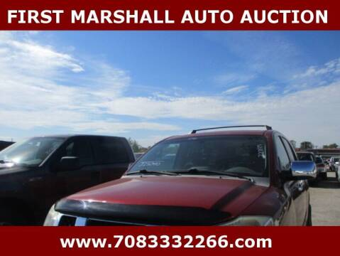 2006 Nissan Armada for sale at First Marshall Auto Auction in Harvey IL