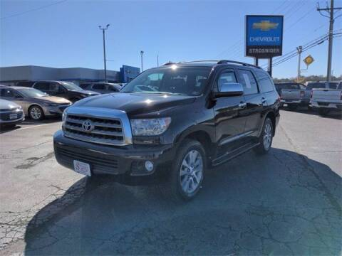2017 Toyota Sequoia for sale at Strosnider Chevrolet in Hopewell VA