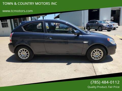 2011 Hyundai Accent for sale at TOWN & COUNTRY MOTORS INC in Meriden KS
