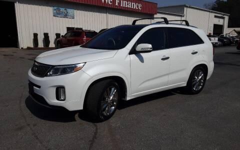 2014 Kia Sorento for sale at Mathews Used Cars, Inc. in Crawford GA