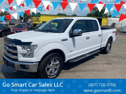 2017 Ford F-150 for sale at Go Smart Car Sales LLC in Winter Garden FL