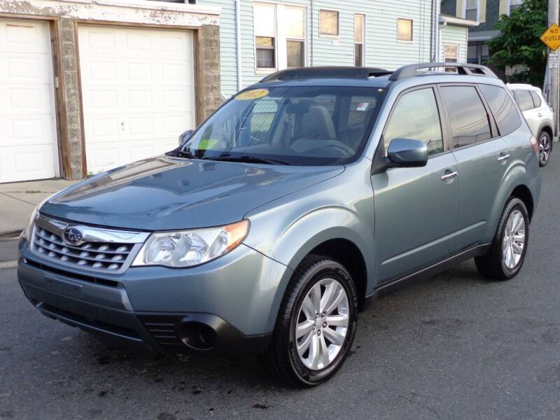 2012 Subaru Forester for sale at Broadway Auto Sales in Somerville MA