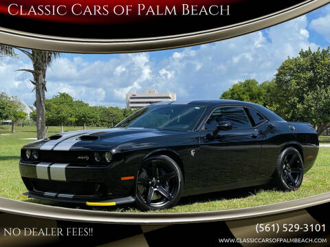 2020 Dodge Challenger for sale at Classic Cars of Palm Beach in Jupiter FL