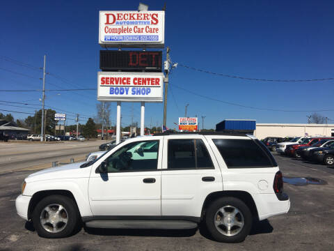 2006 Chevrolet TrailBlazer for sale at Deckers Auto Sales Inc in Fayetteville NC