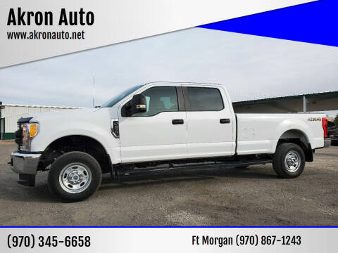 2017 Ford F-250 Super Duty for sale at Akron Auto - Fort Morgan in Fort Morgan CO