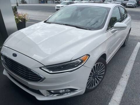 2018 Ford Fusion Hybrid for sale at BILLY HOWELL FORD LINCOLN in Cumming GA