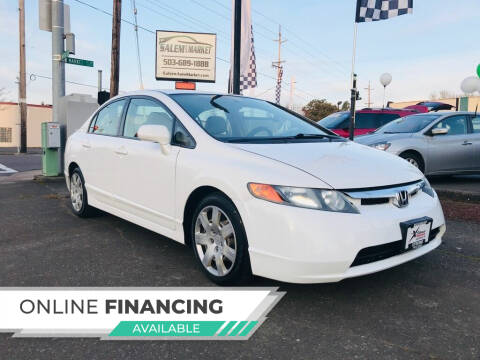2008 Honda Civic for sale at Salem Auto Market in Salem OR