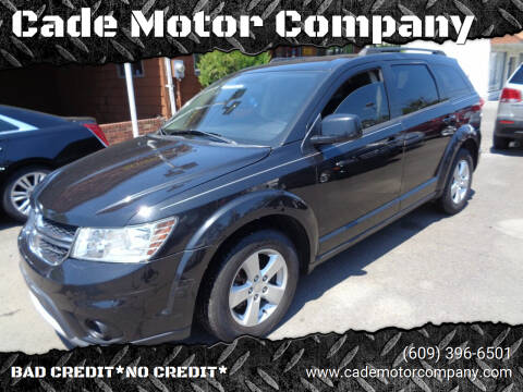 2012 Dodge Journey for sale at Cade Motor Company in Lawrence Township NJ