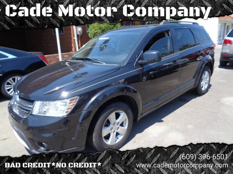 2012 Dodge Journey for sale at Cade Motor Company in Lawrenceville NJ