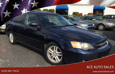 2005 Subaru Legacy for sale at Ace Auto Sales in Boise ID
