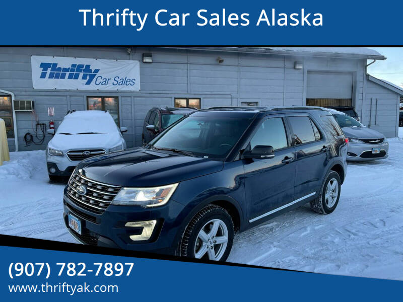 2017 Ford Explorer for sale at Thrifty Car Sales Alaska in Anchorage AK