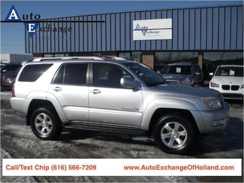 2004 Toyota 4Runner for sale at Auto Exchange Of Holland in Holland MI